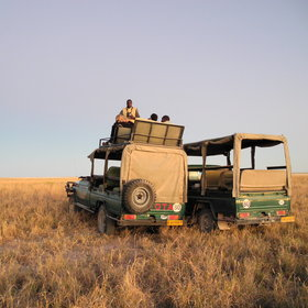 ...even the game drive vehicles are a little different here