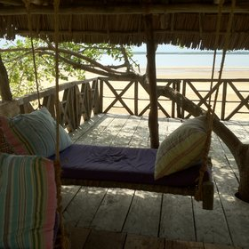 … – the perfect place to laze away an afternoon while gazing out to sea.