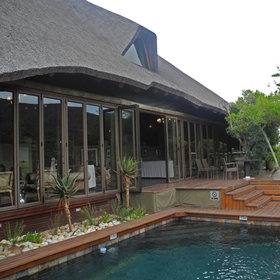 Bayethe is a comfortable lodge in Shamwari Game Reserve in South Africa's Eastern Cape.