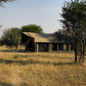 Olakira Camp is a semi-permanent tented camp in the Serengeti...