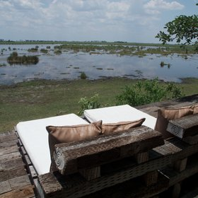 For relaxation between and after activities, enjoy great views from the day beds...