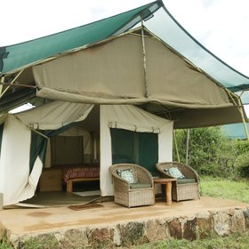 Laikipia Wilnderness in Kenya, has five spacious tents...