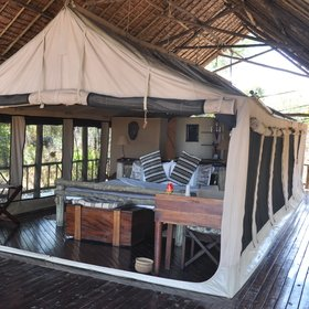Katavi Wildlife Camp is a traditional tented camp...