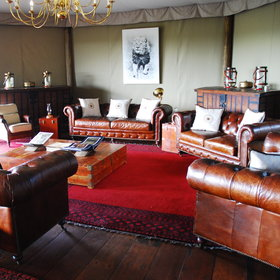 Mara Plains is a small and luxurious tended camp in Kenya's Mara region...