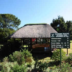 Ebb and Flow Rest Camp is in the Wilderness Area of South Africa's Garden Route.