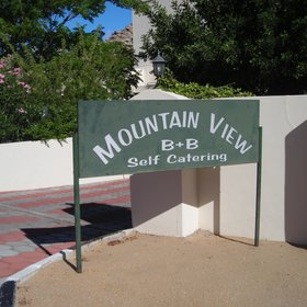 Mountain View Guest House is situated on an hill overlooking Namaqualand in South Africa.