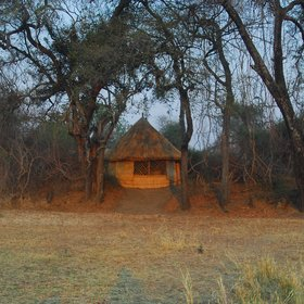 Crocodile Bushcamp is a very rustic camp which blends in perfectly with it's surroundings.