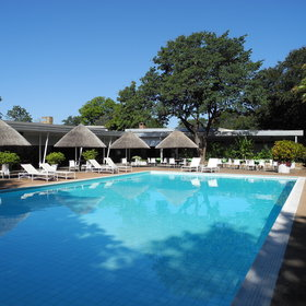 Sprayview is a large hotel about half-an-hour's walk or a short drive from the Victoria Falls