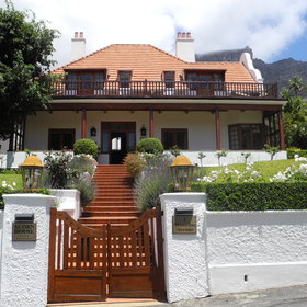 Acorn House sits at the foot of Table Mountain