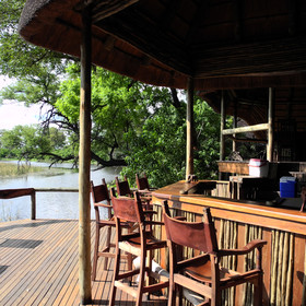 Enjoy a drink or two at Savuti's bar...