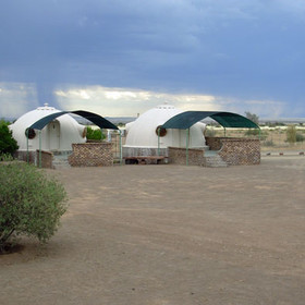 Quivertree Forest Restcamp near the Fish River Canyon.