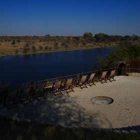 Leroo La Tau is situated on the eastern side of the Boteti River...