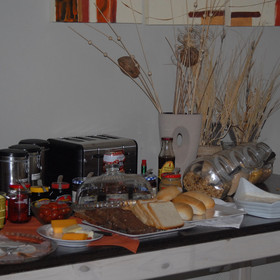 ...and consists of a varied buffet as well as a cooked-to-order hot breakfast.