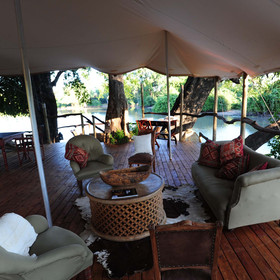Plenty of locally sourced ornaments and decorations give Kanga Bush Camp a very authentic feel...