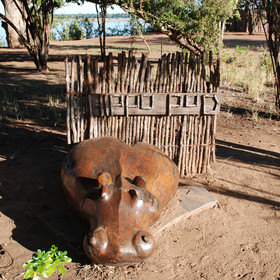 Hippo pod is Kasaka's two bedroomed house for families...