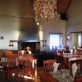...and serve traditional Cape cuisine in its own restaurant.