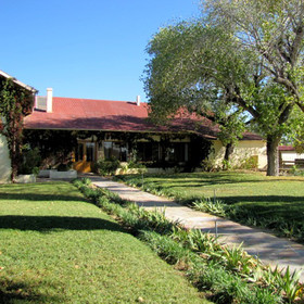The Elegant Farmstead is located an hour and a half's drive north of Windhoek.