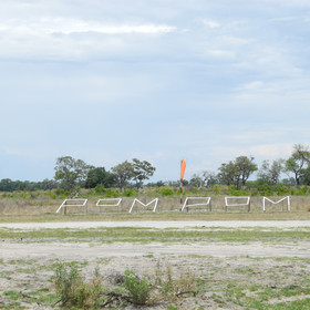 Following higher than usual floods in recent years, guests currently fly into Pom Pom Airstrip...