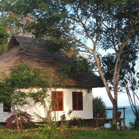 Spoil yourself in one of the 2 unique Baobab suites at Fumba Beach Lodge