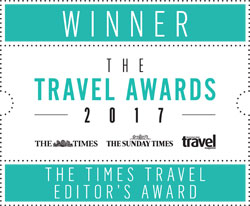 The Times Travel Editor's Award 2017