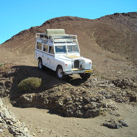 While at your remote camp, sturdy vehicles can take you to otherwise inaccessible places.