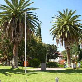 Windhoek has large expanses of green space in its centre.