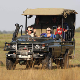 Activities focus on day and night game drives, all in open vehicles...