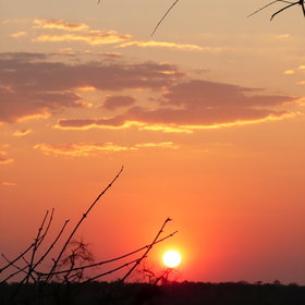 ... from where you can also enjoy the most spectacular sunsets.