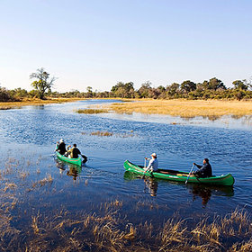 ... and allowed Motswiri, in the far west of the Selinda Reserve, to start canoeing activities.