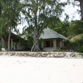 Denis Island Lodge has spacious guest cottages...