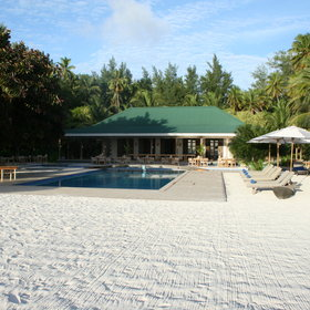 Desroches Island Lodge is a popular place to stay...