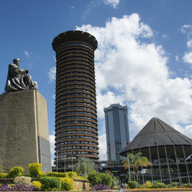 …the Kenyatta International Conference Centre (great views from the top)…