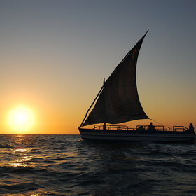 … and some of the most picturesque sunsets on the Mozambique coast…