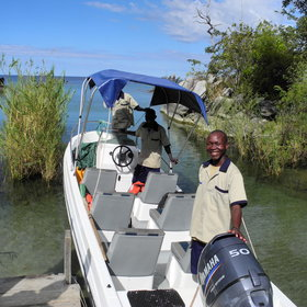 It is most easily reached by boat from Likoma, which is in Malawi.