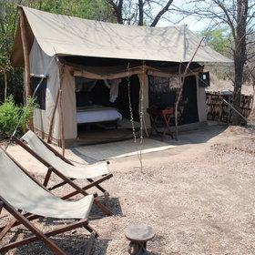 … a private and comfortable tent at Kubatana Camp, due to open in 2014.