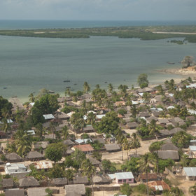The town of Pemba is situated in one of the world's largest natural harbours.