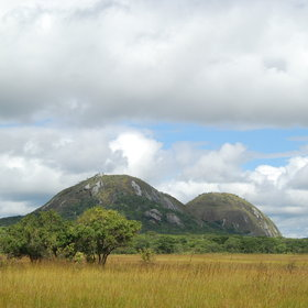 ...and some stunning scenery like the smooth hills pictured here at Mutinondo Wilderness…
