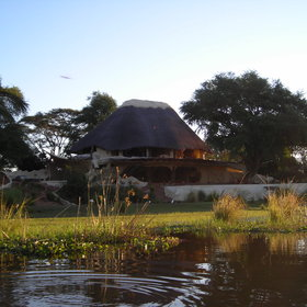 … or in a more luxurious place like the uniquely-designed Chongwe River House…