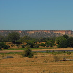 Perhaps the most prominent feature within Gonarezhou are the Chilojo Cliffs...