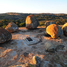 ...and more recently it was designated as the last resting place of Cecil John Rhodes
