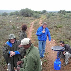 Hence activities in Kwandwe Game Reserve focus on guided walks...