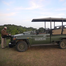 Activities here concentrate on game walks and 4WD safaris...