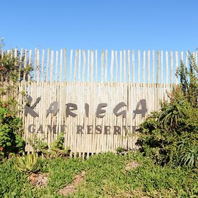 The privately owned Kariega Game Reserve is located in South Africa…