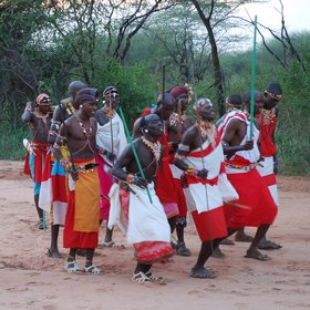 The reserve is located in the homeland of the Samburu people…