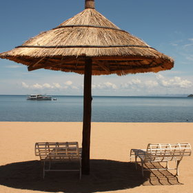 Relax on the shore of Lake Malawi with its beautiful sandy beaches...