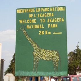 Akagera National Park is located in the east of Rwanda.