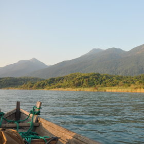 Mahale Mountains National Park is situated in the far West of the park.