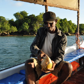 ... and consequently Pemba Island is more dependent on agriculture than on tourism.