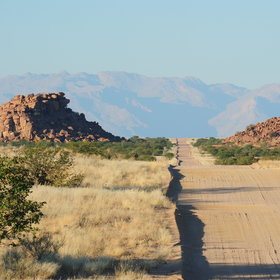 Damaraland is a vast, beautiful wilderness in north-west Namibia.