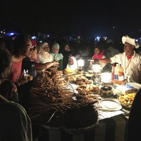 Night time at the food market is one of Zanzibar's iconic experiences.